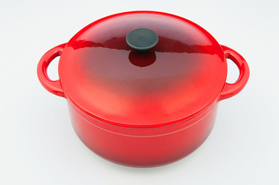 10'' Round Enamel Cast Iron Casserole Dishes
